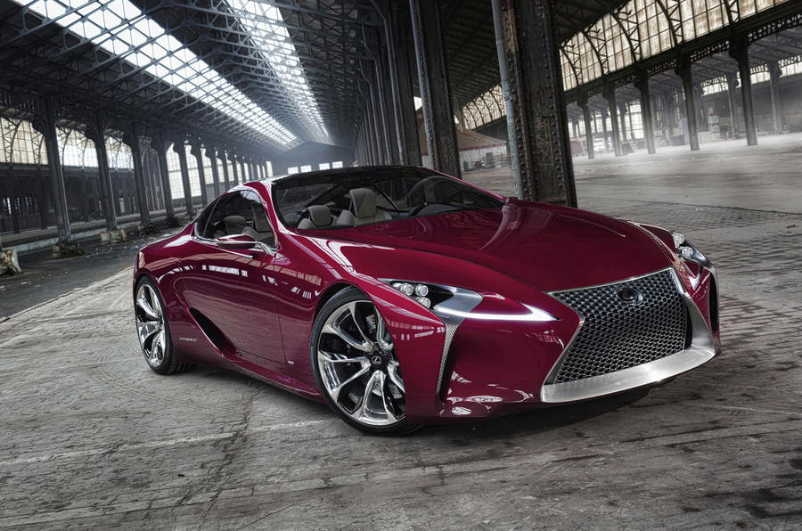 Lexus ponders LF-LC production