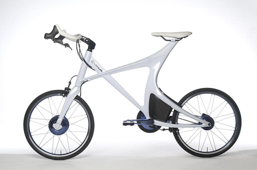 Lexus reveals hybrid bicycle