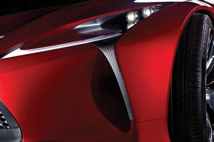 Lexus shows new interior design