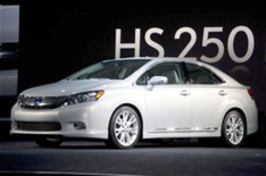 No Lexus HS 250h for UK