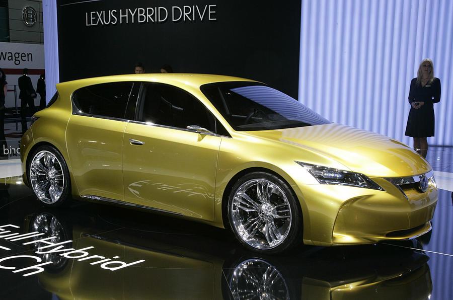 Geneva motor show: Lexus CT 200h