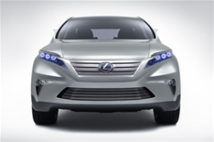 Lexus previews next RX 4x4