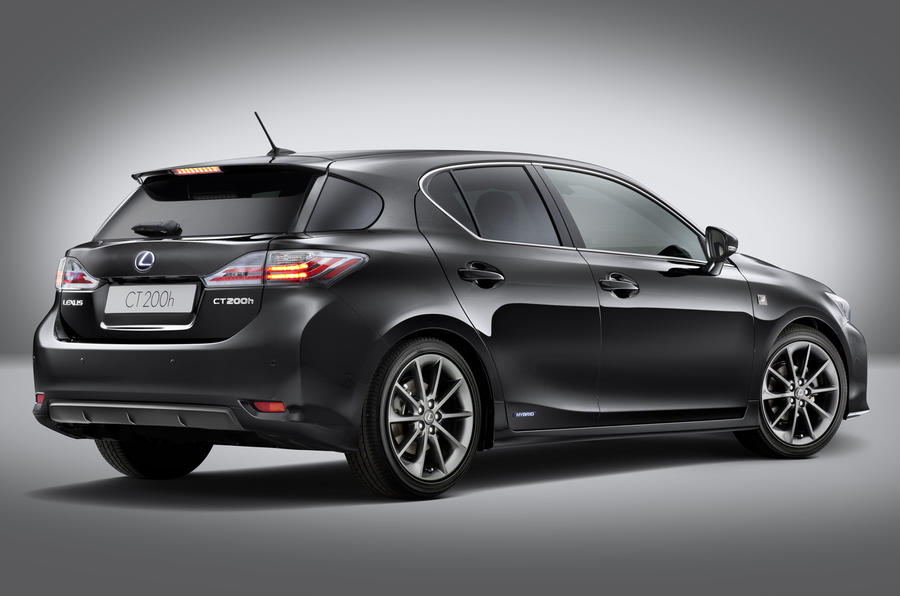 Lexus CT 200h F-Sport Revealed