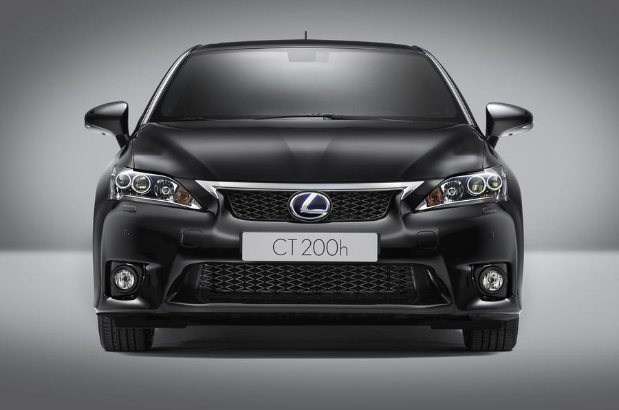 Lexus CT 200h F-Sport revealed