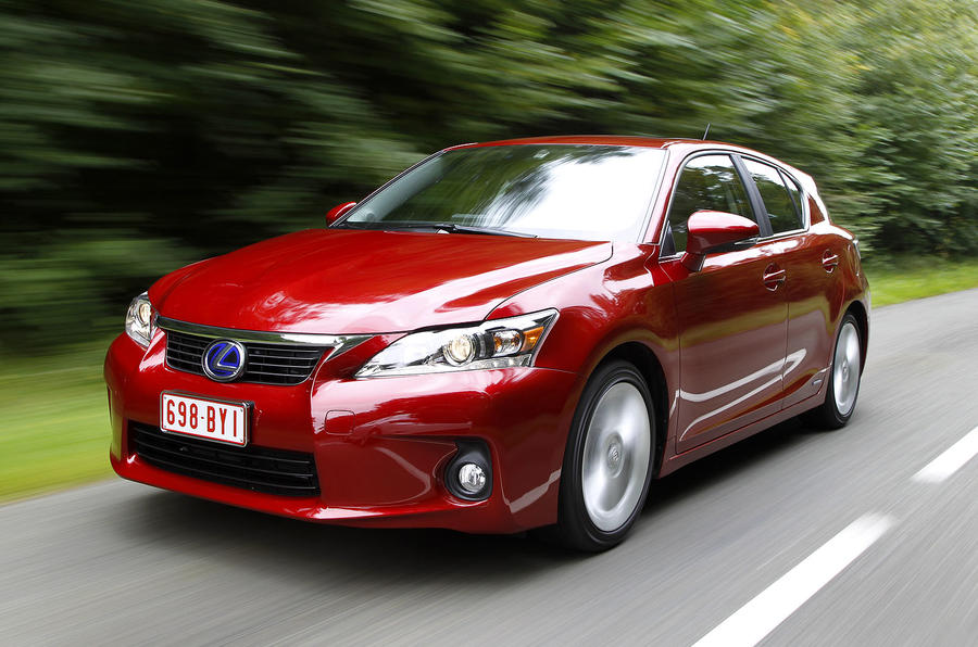 No Lexus CT variants planned