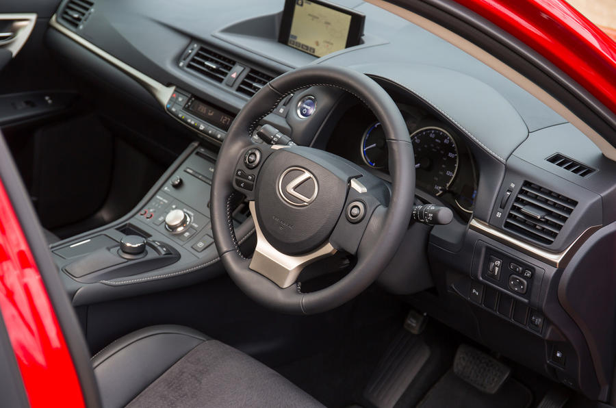 ... Lexus CT Interior ...