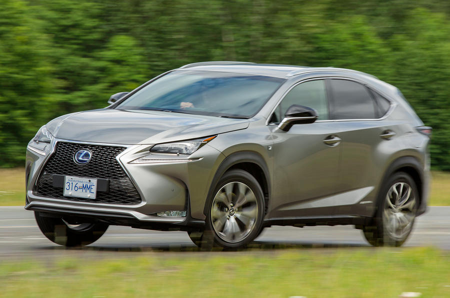 Lexus NX300h F Sport first drive review
