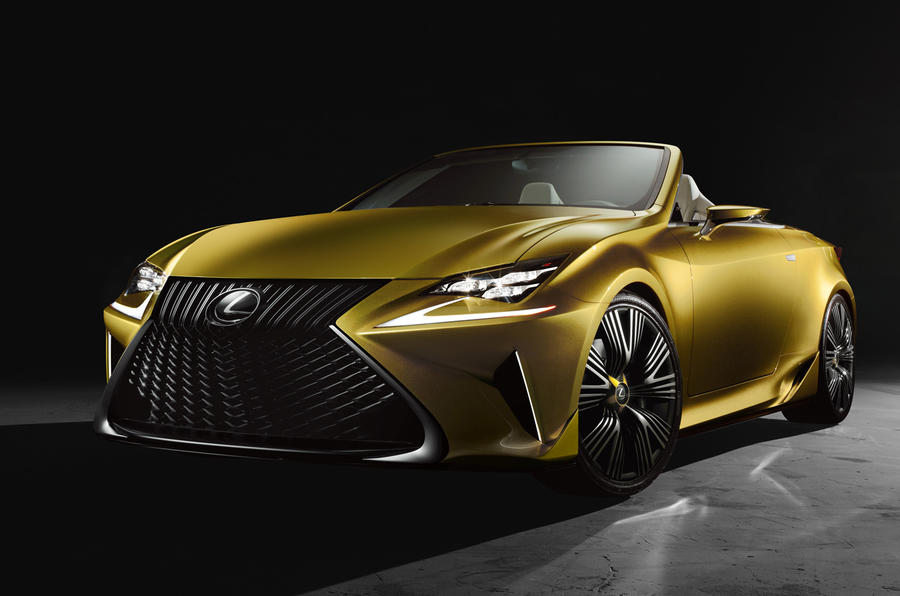 Lexus unveils radical LF-C2 concept at LA show