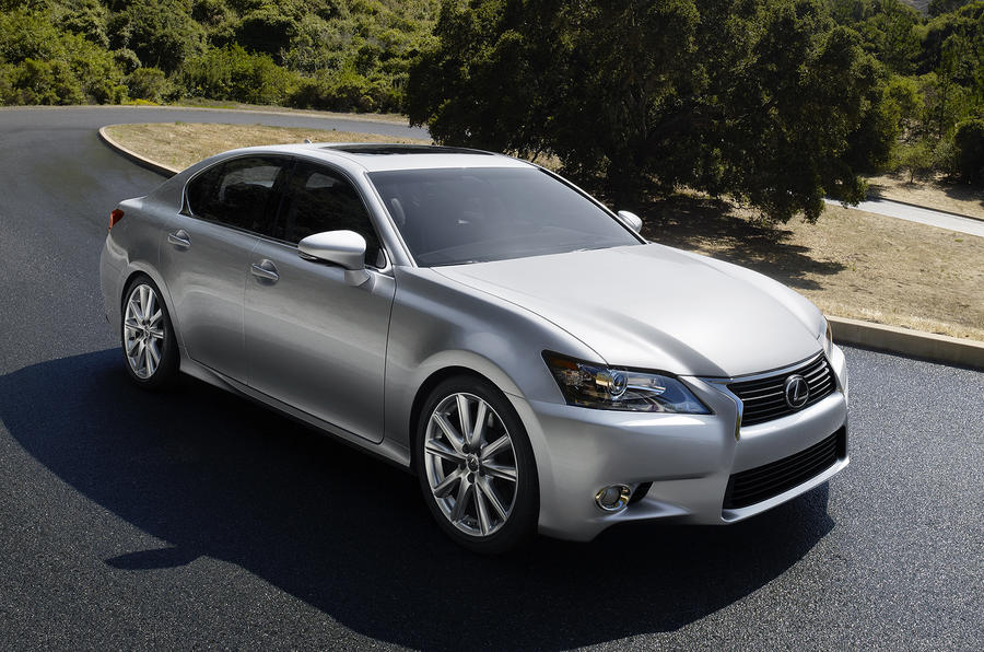 Pebble Beach: new Lexus GS