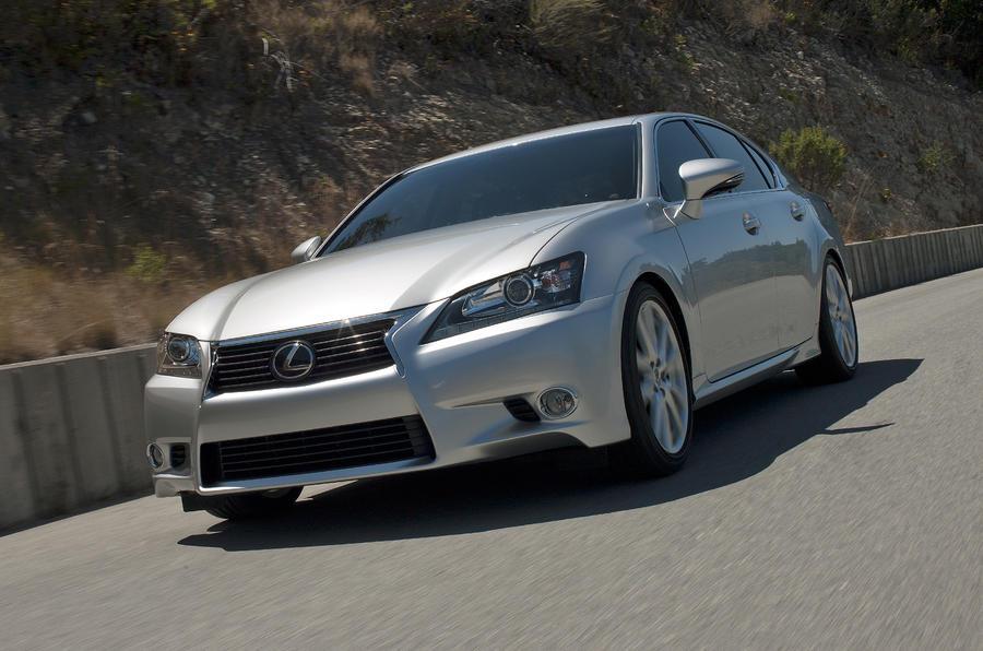 Pebble Beach: new Lexus GS