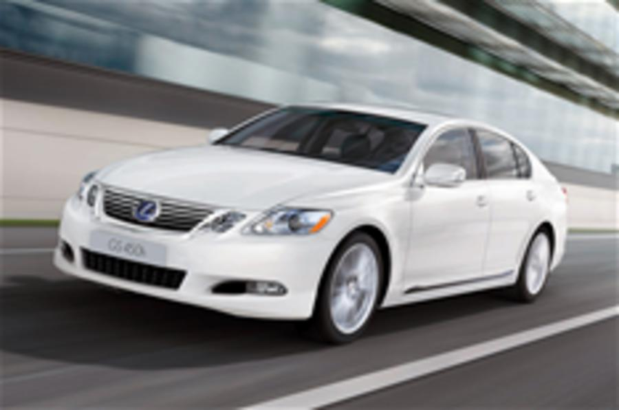 New Lexus GS 450h launched