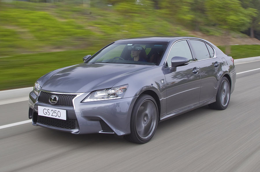 New Lexus GS from £32,995