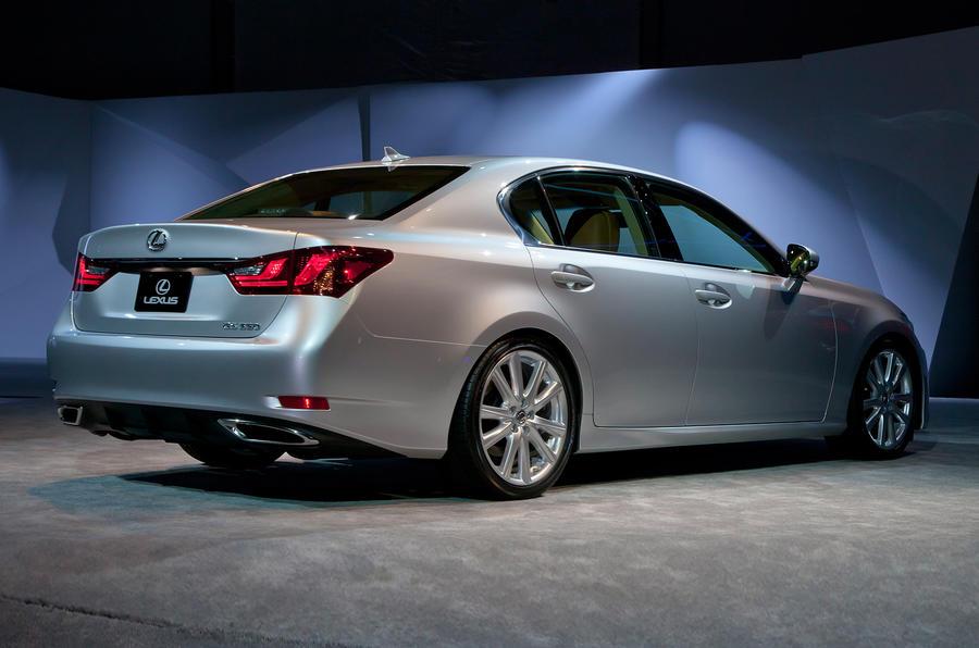 Frankfurt show – Lexus GS 450h