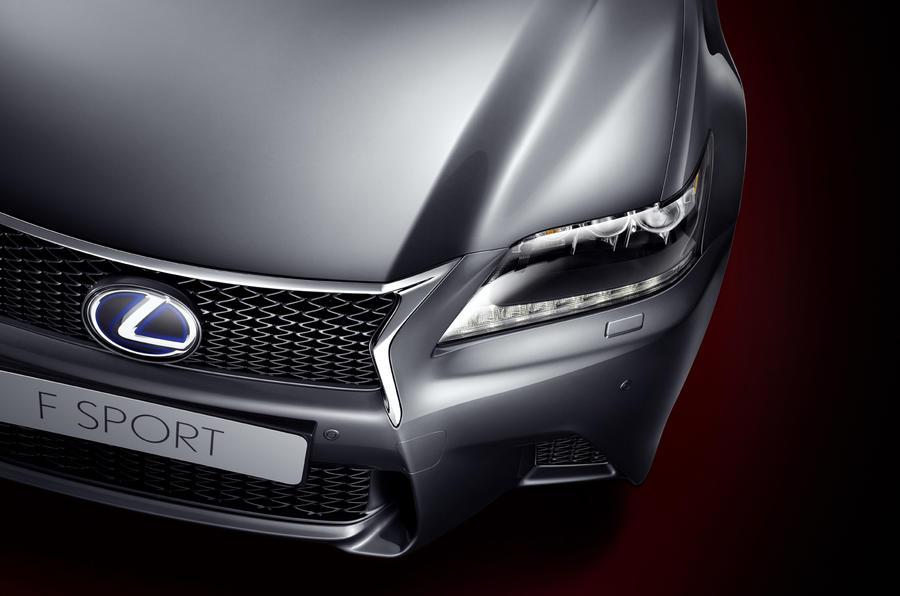 Lexus GS F-Sport revealed