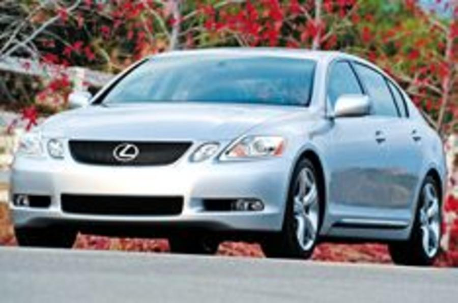 Lexus GS hits the catwalk