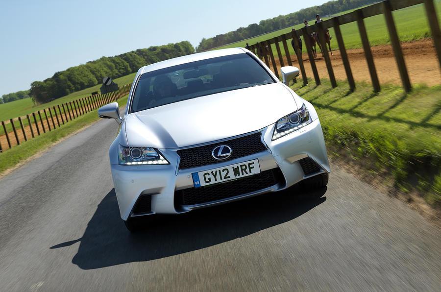155mph Lexus GS450h