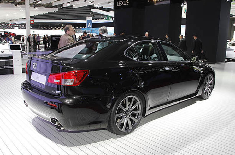 Paris motor show: Lexus IS-F