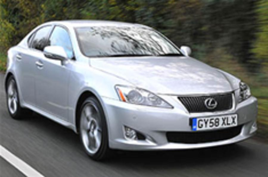 Revisions for Lexus IS