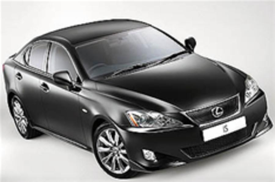 Lexus IS 250 gets sports pack