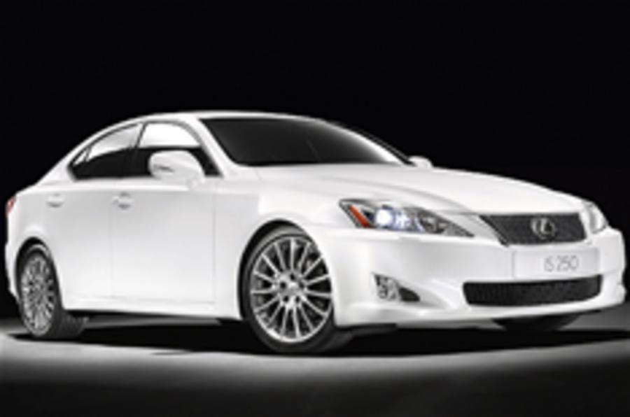Lexus launches new IS range