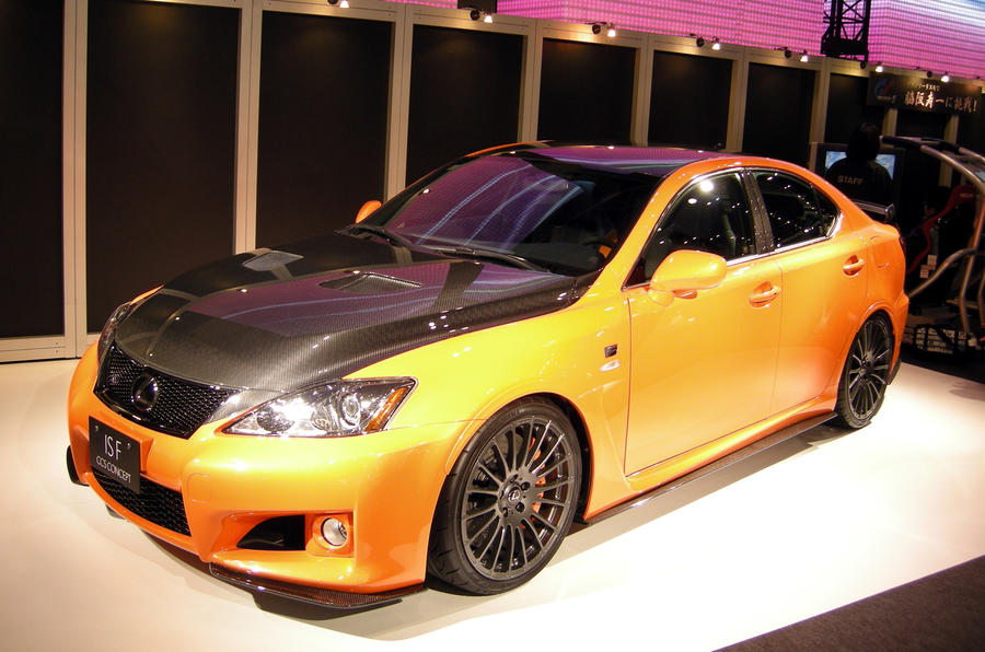 Lexus IS-F clubsport revealed