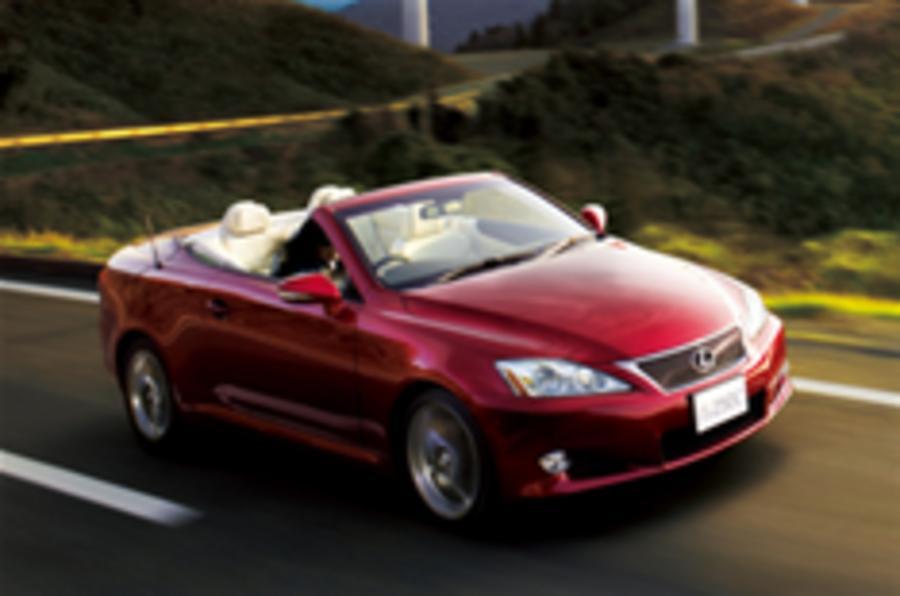 Lexus IS 250C prices announced