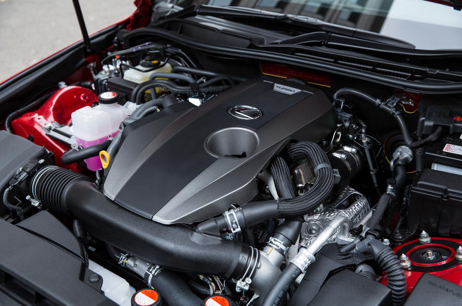 2.0-litre Lexus IS turbocharged petrol engine