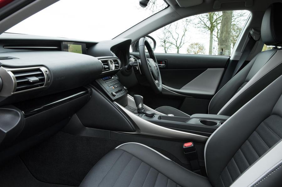 Lexus IS interior