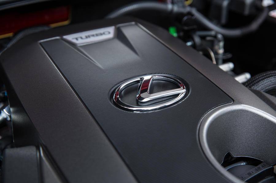 Lexus IS engine bay