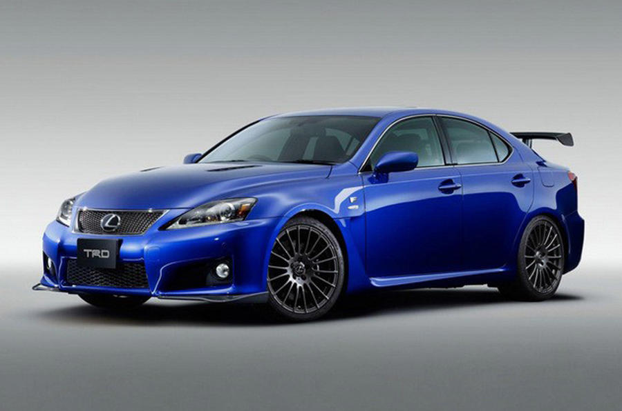 Race-inspired Lexus IS-F unveiled