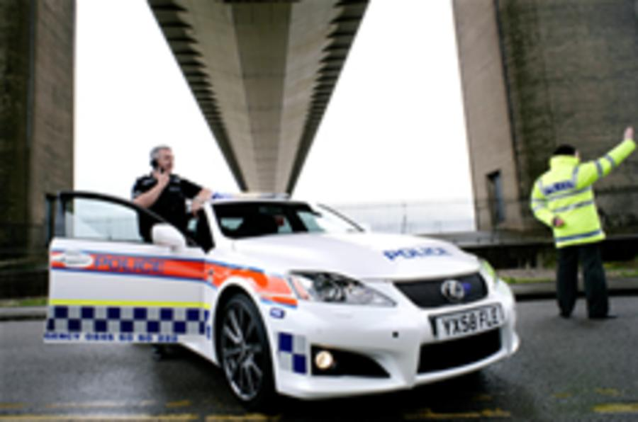 Police force buys a Lexus IS-F