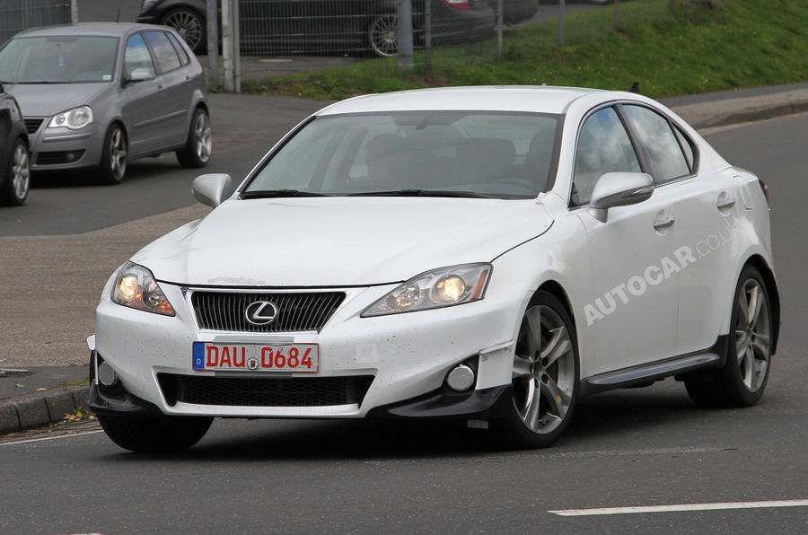 Next Lexus IS + GS - first pics