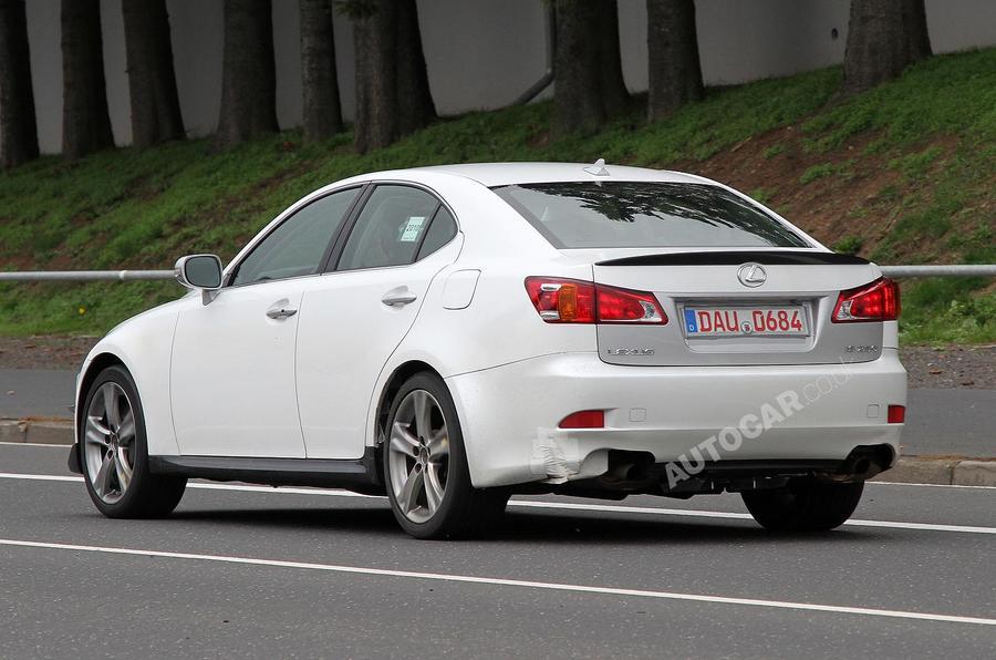 Next Lexus IS + GS - first pics