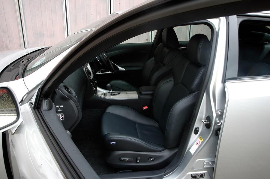 Lexus IS-F interior