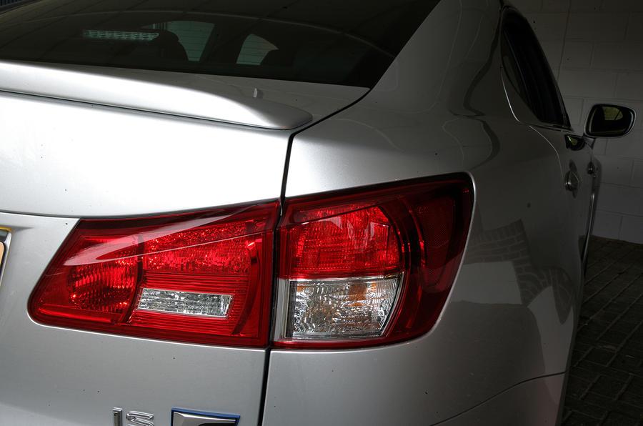 Lexus IS-F rear lights