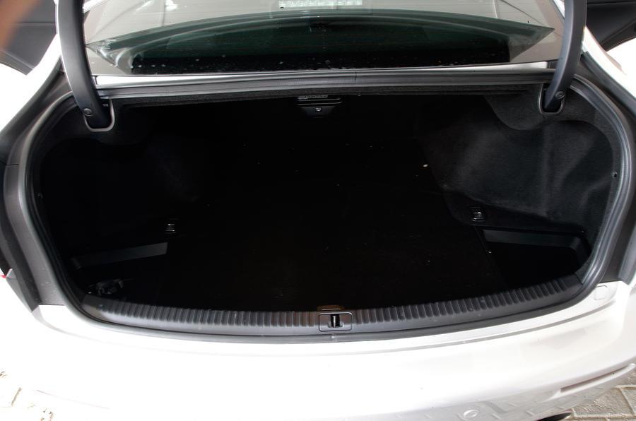 Lexus IS-F boot space