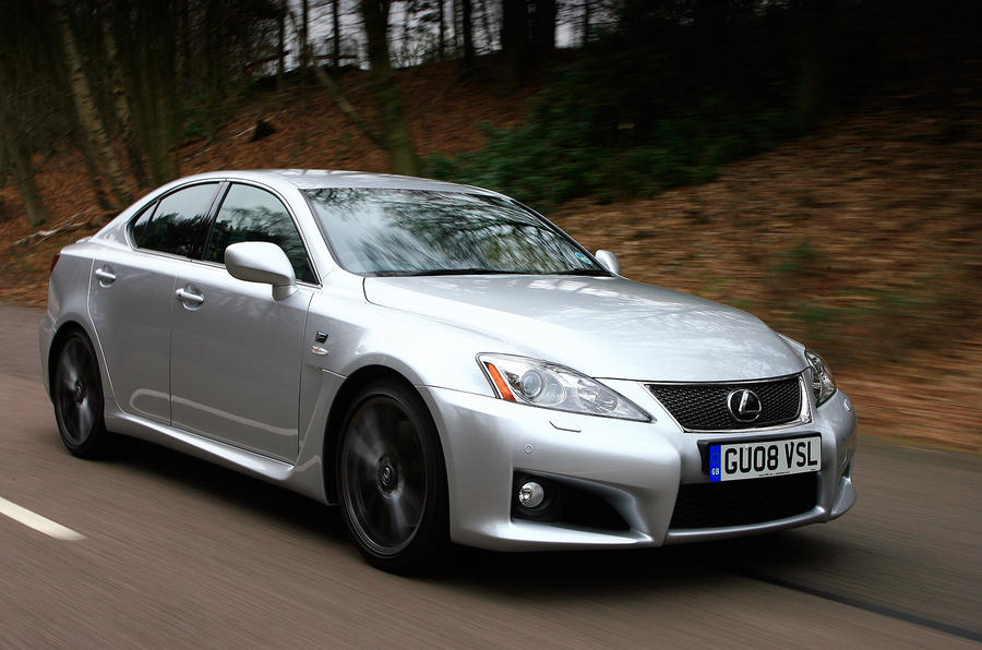 Lexus IS-F front quarter