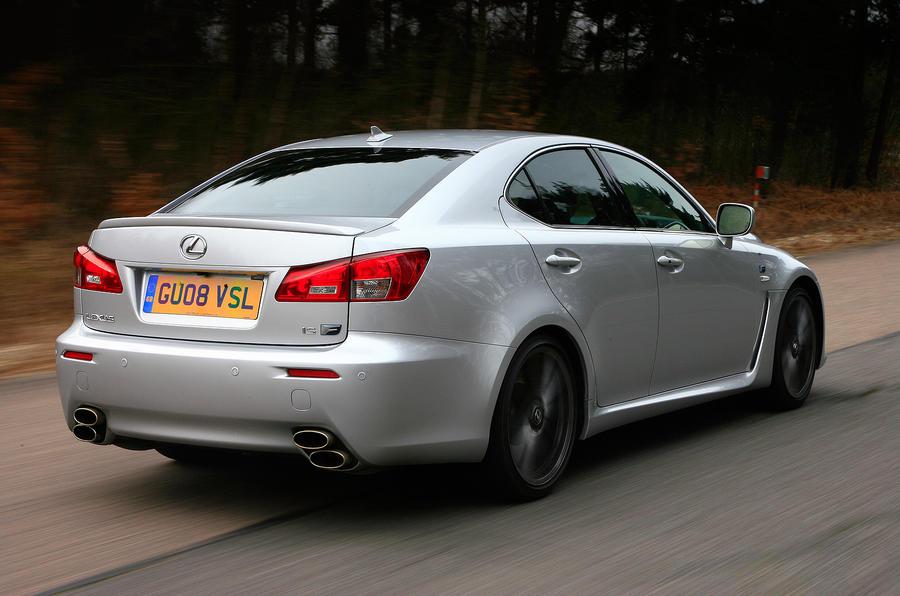 Lexus IS-F rear quarter
