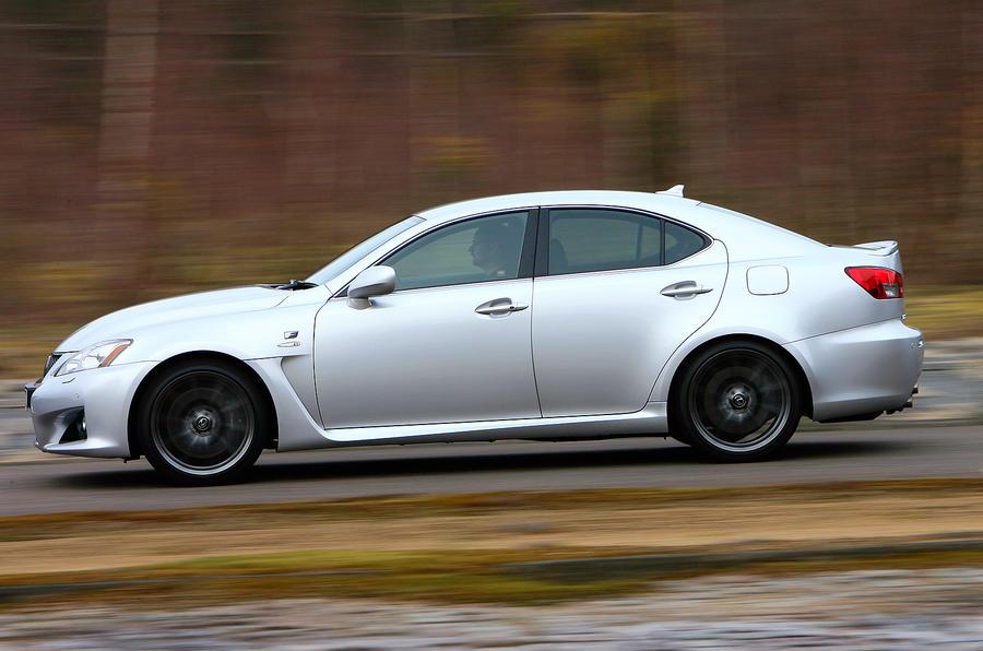 Lexus IS-F side profile