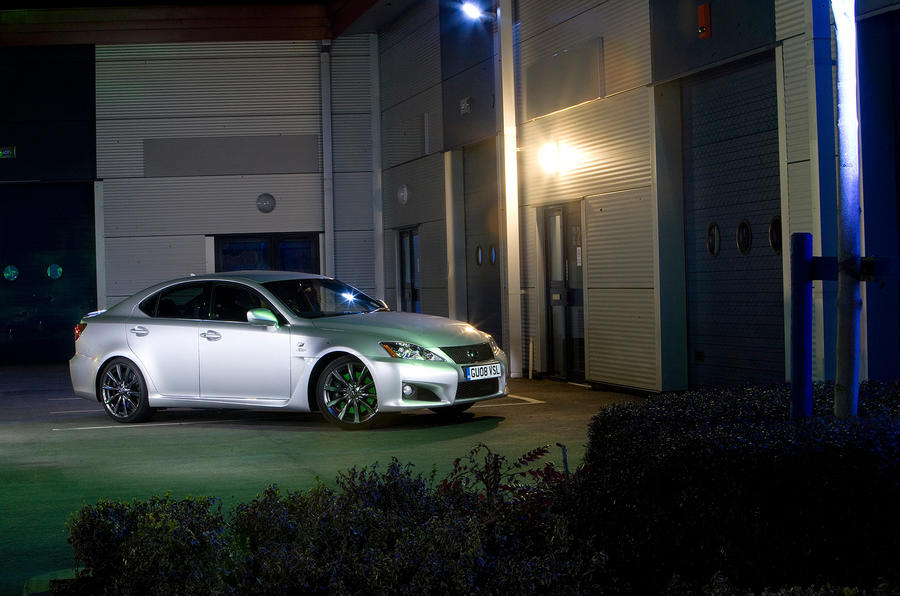 3.5 star Lexus IS-F