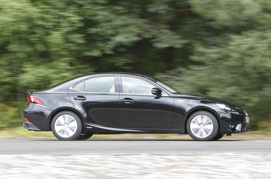 Lexus IS side profile