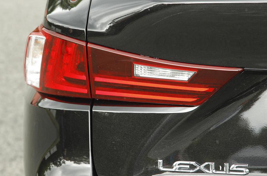Lexus IS rear lights