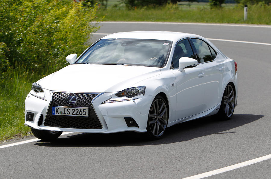 Lexus IS300h first drive review