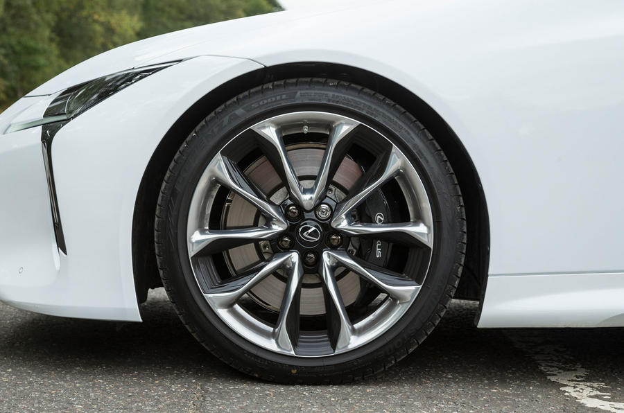 Lexus LC500 alloy wheels