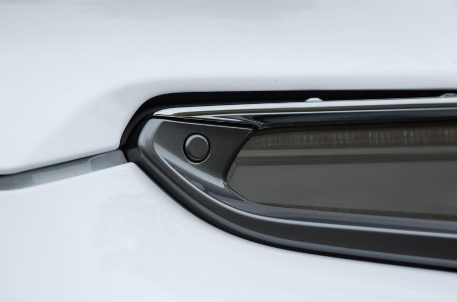 Lexus LC500 boot release
