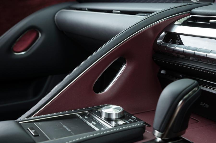Lexus LC500 grab handle