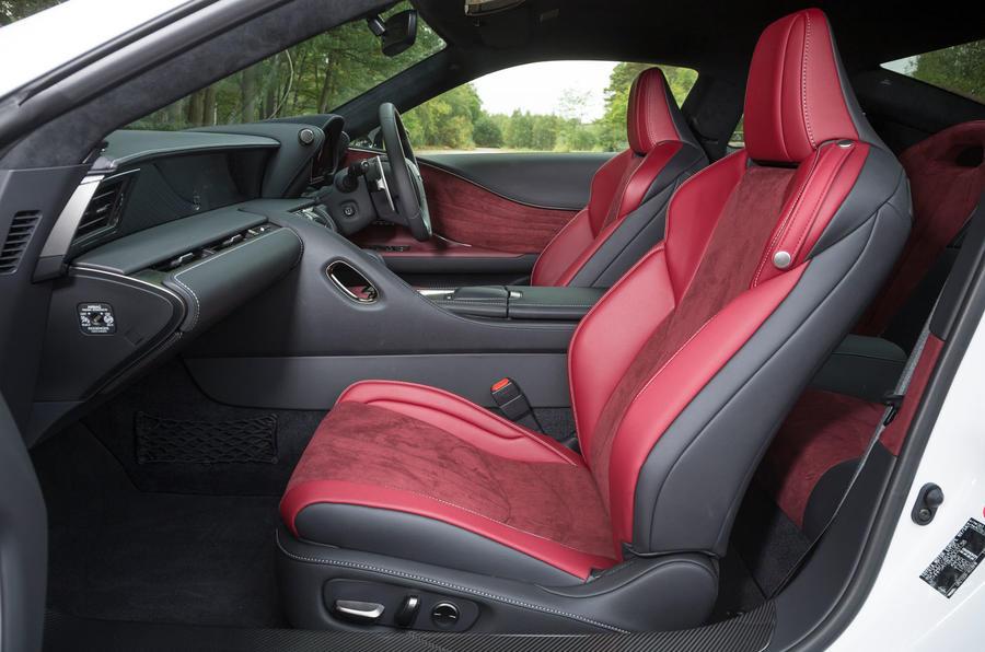 ... Lexus LC500 Interior ...