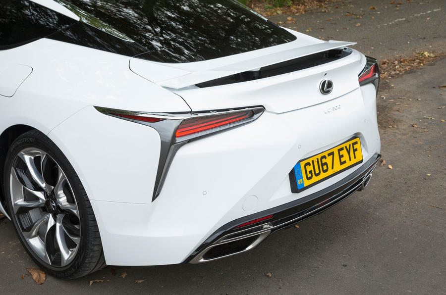 Lexus LC500 rear end