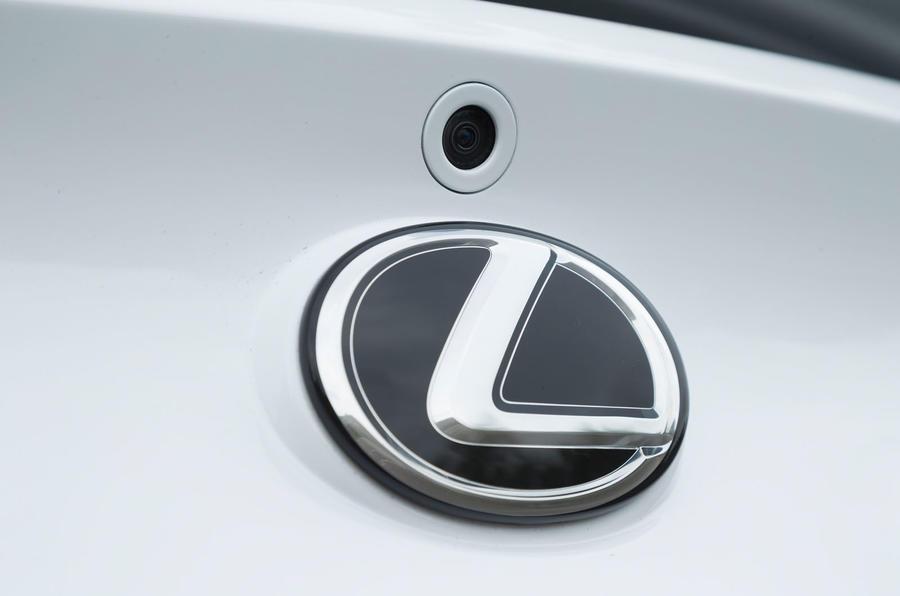 Lexus LC500 rear view camera
