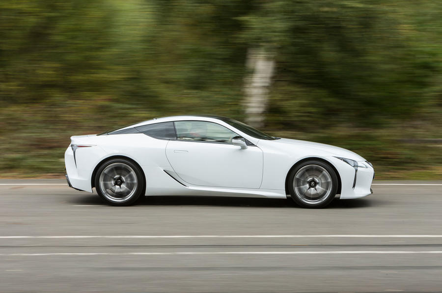 Lexus LC500 side profile